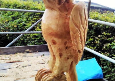 Glenfarclas bird sculptures Barn owl