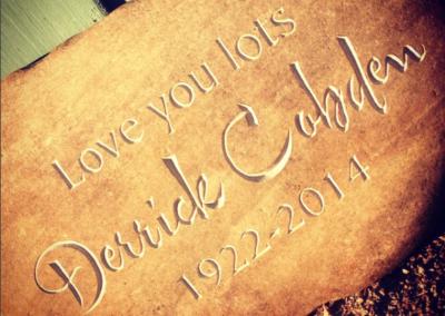 Delliefure Grave Marker
